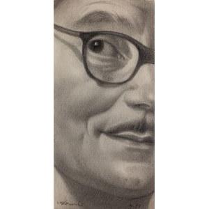 Marian Marzyn Konarski (1909 Chrzanów – 1998 Kraków), Autoportret, 1971 r.