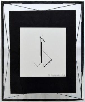 Henryk Stażewski, Kompozycja, 1984