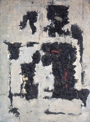Józef Szajna (1922 Rzeszów - 2008 Warszawa) - Obraz czarno - biały, 1964