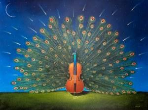Rafał Olbiński (ur. 1943, Kielce) - Eine Kleine Nachtmuzik, 2018