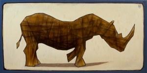 Grzegorz Klimek, Posąg wędrującego nosorożca, 2019