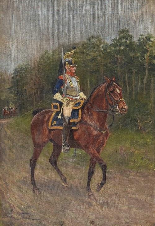 Felix FRANIĆ (1871-1937), Kirasjer na koniu