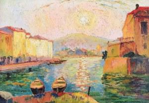 Jan RUBCZAK (1884-1942), Motyw z francuskiego Południa