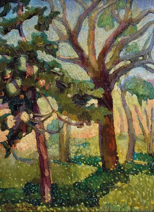 Alexander ALTMANN (1885-1932), Drzewa, 1930