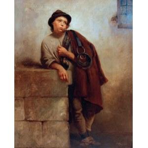 Tadeusz POPIEL (1863-1913), Chłopiec stajenny, 1883