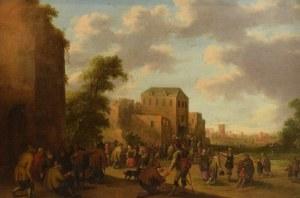 Cornelisz Joost DROOCHSLOOT (1586-1666), Przypowieść o uczcie królewskiej, 1639