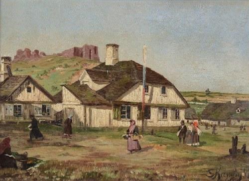 S. KAMIŃSKI, XIX w., Na wsi, 1896