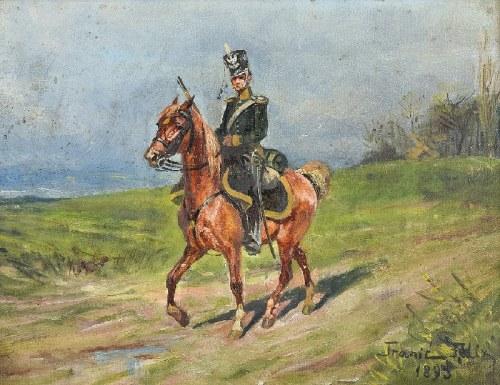 Felix FRANIĆ (1871-1937), Strzelec konny, 1893