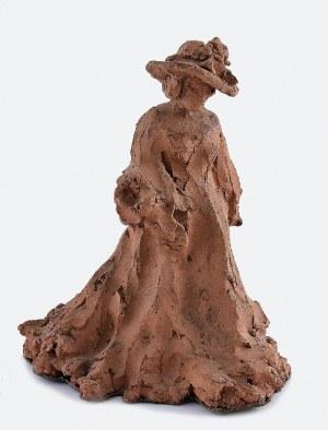 Ludwik PUGET (1877-1942), Dama w kapeluszu