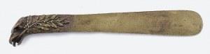 Firma WIKTOR GONTARCZYK (1882-1948) - pracownia wyrobów artystycznych, Nóż do papieru z głową orła