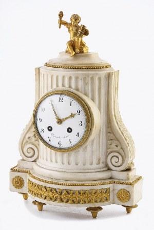 BOURRETTE A PARIS, Zegar kominkowy w stylu Ludwika XVI
