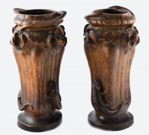 TERRAKOTA und BRONZEFABRIK, FRIEDRICH GOLDSCHEIDER (1845-1897), Para waz secesyjnych