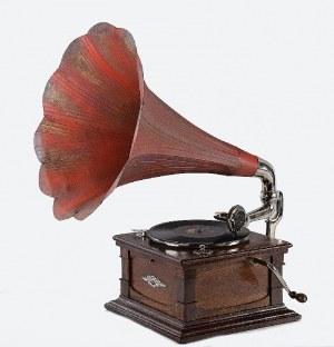 Firma PAILLARD MAESTROPHONIC, Patefon z tubą