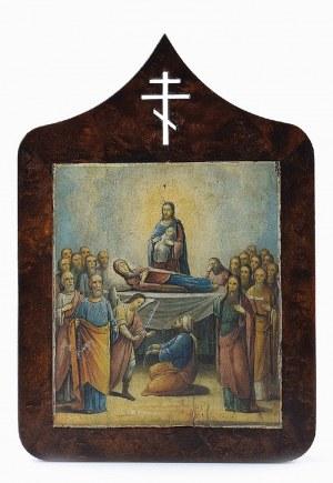 Ikona - Zaśnięcie [Uspienije] Matki Bożej