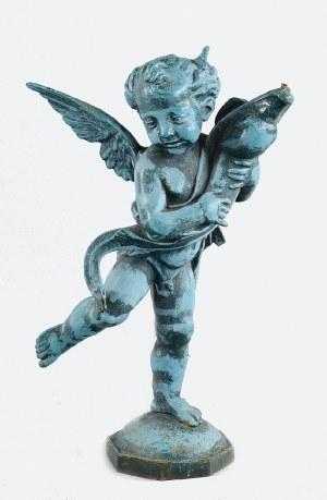 Figurka Amora - fragment fontanny