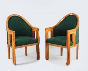 Para foteli w stylu art-déco