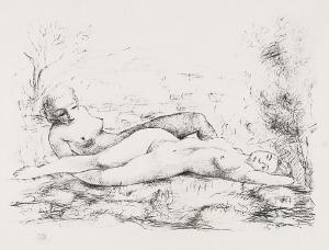 Mojżesz KISLING (1891-1953), Dwie nagie kobiety