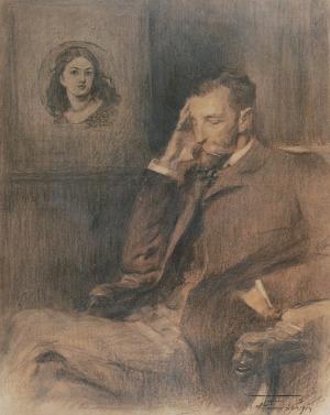 Antoni KAMIEŃSKI (1860-1933), Zaduma, 1904