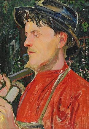 Wlastimil HOFMAN (1881-1970), Rzeźbiarz, 1907