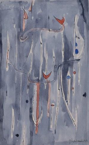 Jerzy TCHÓRZEWSKI (1928-1999), Kompozycja, 1949