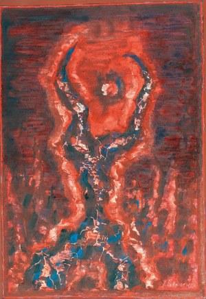 Jerzy TCHÓRZEWSKI (1928-1999), Chwyt, 1981