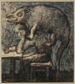 Jan LEBENSTEIN (1930-1999), Les Siens, 1969