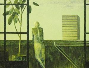 Andrzej TOBIS (ur. 1970), Na balkonie, 2002