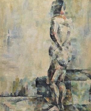 Lech KUNKA (1920-1978), Akt tyłem, 1946