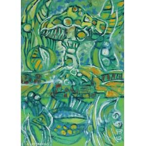 Kazimierz OSTROWSKI (1917-1999), Zielony muchomor
