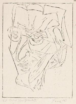 Jerzy PANEK (1918-2001), Portret Józefa Gielniaka X, 1963
