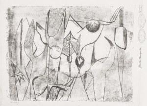 Adam MARCZYŃSKI (1908-1985), Kwiaty, 1952