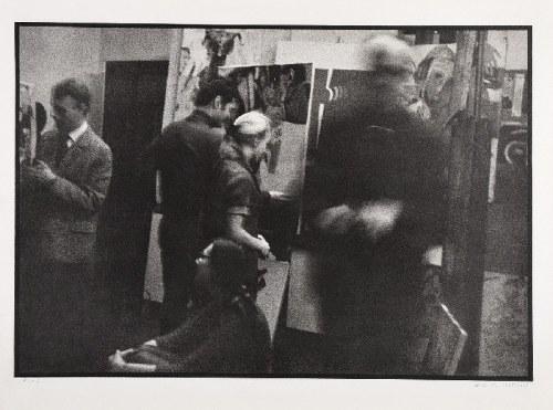 Aleksander MITKA (ur. 1946), Studenci w pracowni T. Kantora z udziałem I. Mitoraja - ASP w Krakowie, 1968/2003