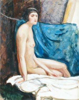 Aneri Irena Weissowa (1888-1981), Akt siedzącej kobiety