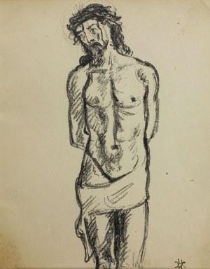 Wlastimil Hofman (1881-1970), Chrystus przy słupie, 1928