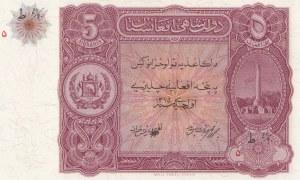 Afghanistan, 5 Afghanis, 1936, UNC, p16