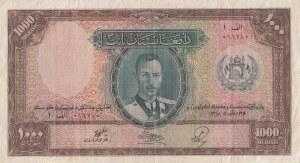 Afghanistan, 1.000 Afghanis, 1939, VF (+), P27a