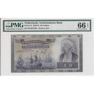 Netherlands, 20 Gulden, 1941, UNC, p54