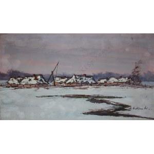 Andrzej Malinowski (1882-1932), Poleska zima
