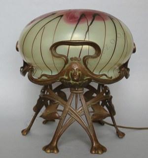 Lampa gabinetowa secesyjna (Francja, pocz.XX w.)