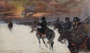 Jerzy Kossak (1886 Kraków - 1955 Kraków), Wizja Napoleona, 1924