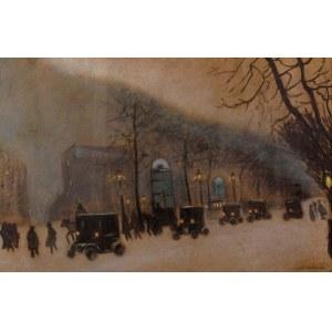 Odo Dobrowolski (1883 Czerniowce - 1917 Kijów), Lwów nocą