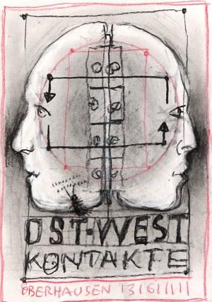 Franciszek Starowieyski (1930 Bratkówka - 2009 Warszawa), Oberhausen - projekt plakatu