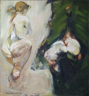 Andrzej BIERNACKI (ur. 1958), Akt podwójny, 1987