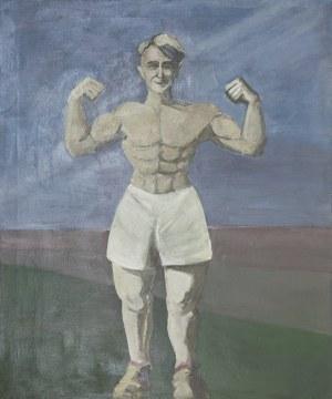 Mikołaj KASPRZYK (ur. 1952), Młody mężczyzna, 1987