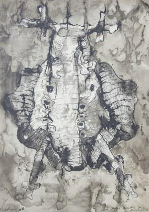 Jan LEBENSTEIN (1930-1999), Figura, 1963