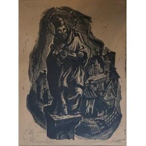 Maria HISZPAŃSKA-NEUMANN (1917-1980), Widok na miasto, 1946