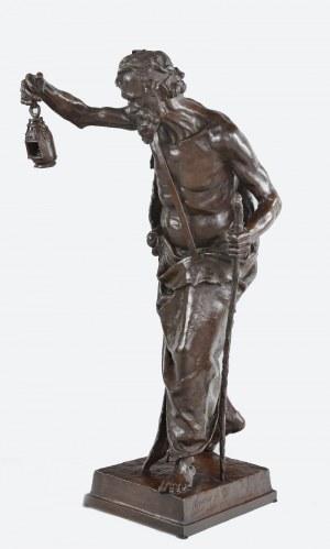 Claudius MARIOTON (1844-1919), Emile COLIN - odlewnia (czynna od 1843), Diogenes z Synopy
