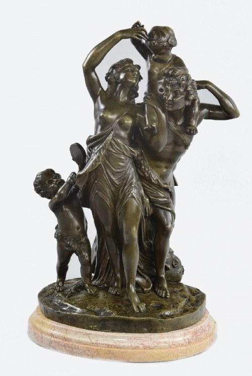 Claude MICHEL - CLODION (1738-1814), Bachanalia