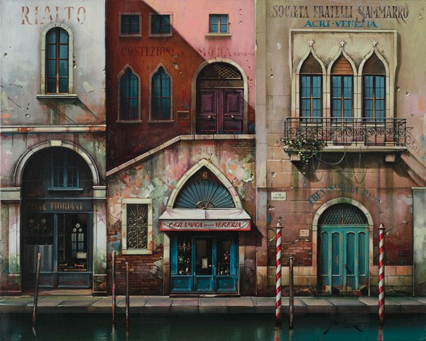 Jan Stokfish-Delarue, Venice