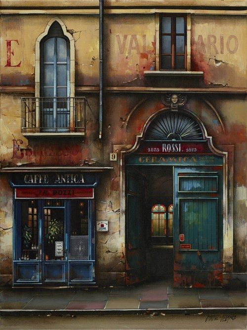 Jan Stokfisz-Delarue, Cafe Antica